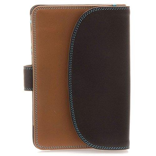 mywalit-damen-medium-tab-flapover-purse-schokolade-blau