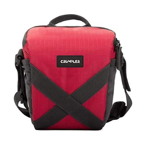 Crumpler QDT150-003 Quick Delight Toploader 150 Universal Schultertasche für Camcorder und Bridge Kamera rot