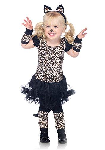 Leg Avenue C48129 - Kleiner Kostüm, Größe S, leopard