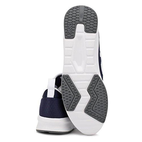 ASICS Uomo Peacoat/Bianco Lyte Jogger Sneaker Peacoat/Bianco