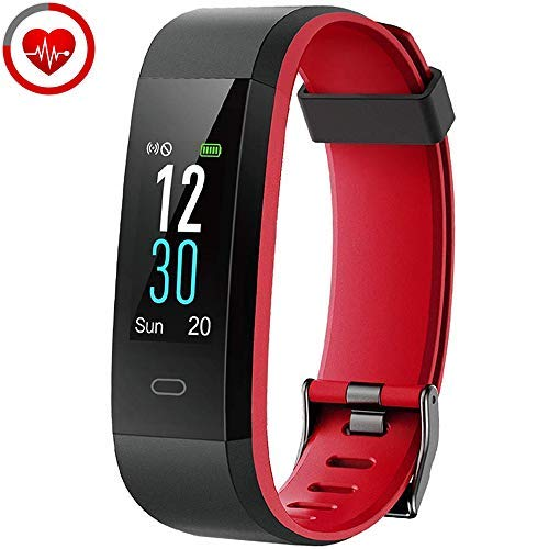 YAMAY Orologio Fitness Tracker Cardiofrequenzimetro da Polso Smartwatch Android iOS Uomo Donna...