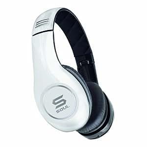 Soul by Ludacris SL150 Pro HD On-Ear-Kopfhörer weiß/schwarz