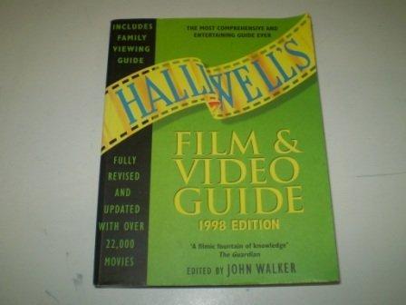 Halliwell's Film and Video Guide 1998 (Guide John Walker Film)