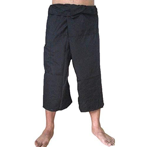 Mitlfuny Karnevalsparty Fancy Festival Zubehör,Männer Leinen Pocket Yoga Sport Plus Size Lässige Hose Neunte Länge Hosen