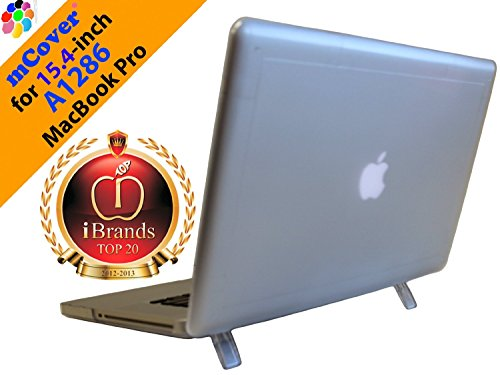 iPearl A1286 transparent Hartschalenkoffer für Aluminum Unibody MacBook Pro (Black Keys) 15-Zoll (Top Verkäufer Macbook Hartschalenkoffer in USA) (**Nicht kompatibel mit Macbook Pro 15.4