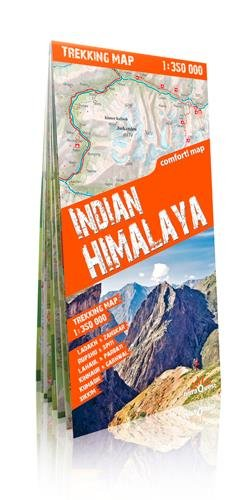 Himalaya indio, mapa excursionista plastificado. Escala 1:350.000. TerraQuest. (Trekking map) por VV.AA.