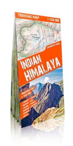 Himalaya indio, mapa excursionista plastificado. Escala 1:350.000. TerraQuest. (Trekking map)