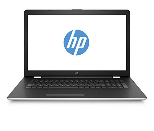 HP 17-ak010ng 1UH25EA 43,9 cm (17,3 Zoll) Laptop (AMD Dual-Core A9-9420 APU, 8 GB RAM, 1 TB HDD, 128 GB SSD, AMD Radeon 530 Grafikkarte, Windows 10 Home 64) silber