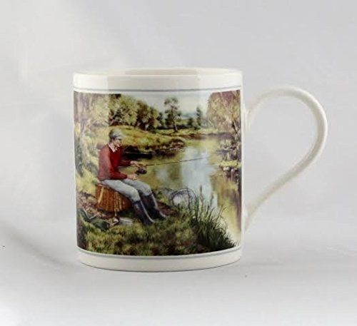 cachet-fishing-river-bank-fine-art-watercolour-china-gift-mug