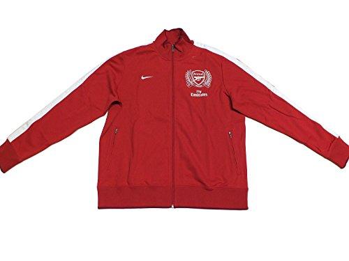 Nike ARSENAL Training Jacke 423997 Rot 620 EDEL, Farbe:rot, Textilien Größen:XXL (Arsenal Nike Training)