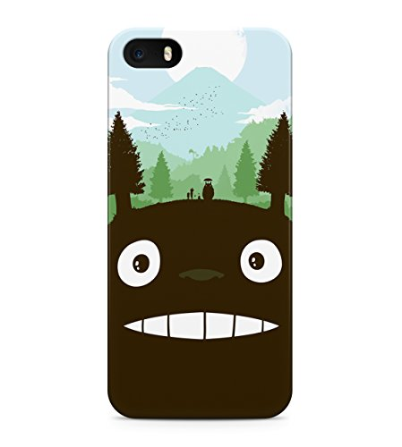 My Neighbor Totoro Forest Hard Plastic Snap On Back Case Cover For iPhone 5 / 5s Custodia