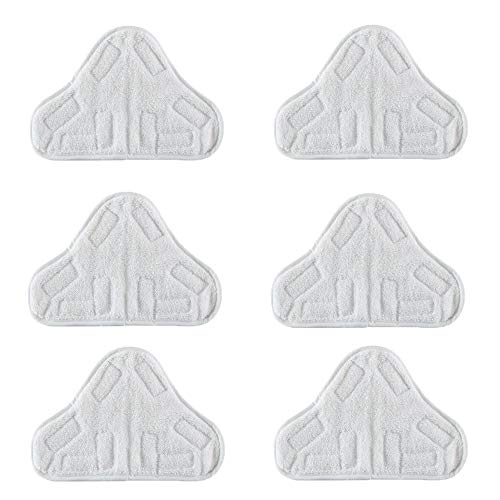 Bluwhale Ersatz-Pads für Dampfreiniger, waschbar, Mikrofaser, H2O H20 X5