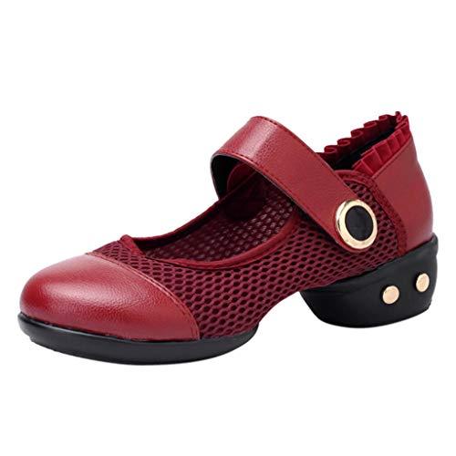 Damen Lace High Heel Mittlere AbsäTze Netz Latein Tanzschuhe Ballettschuhe Einzelne Schuhe Tanzschuhe Wildleder Pumps Hochzeit Schuhe Seide Lace Detail Brautschuhe High Heels -