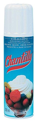 Chantilly - Sprühsahne - 250ml Chantilly Dessert