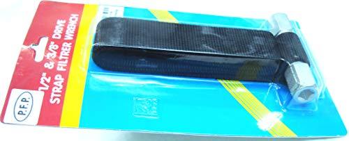 Générique robuste Clé à filtre à sangle, écran large, 1/5,1 cm, 3/20,3 cm filtre à huile Fiameter jusqu'à 100 mm