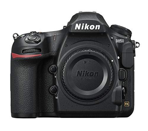 Nikon-D850-Fotocamera-Reflex-Professionale-454-MP-Sensore-CMOS-FX-Filmati-4KUHD-Full-Frame-EXPEED-5-Nero-Nital-Card-4-Anni-di-Garanzia