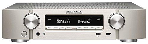 Marantz NR1606/N1SG 7.2 Kanal 4K Netzwerk A/V-Receiver (WLAN, Bluetooth, Airplay, Spotify Connect, Internetradio, DTS-X, Dolby Atmos) silber
