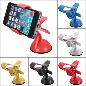 Digihub's Car Mobile Holder With 360 Rotation - Multicolor (Free Ring Stand worth Rupees 199, Color and Design may vary)  available at amazon for Rs.145