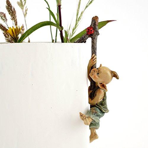 Miniaturfigur für Feengarten & Terrarium Blumentopf-Dekoration ()