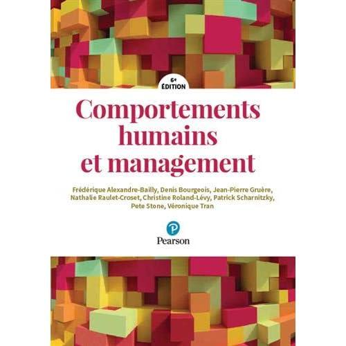 Comportements humains et management - 6e édition