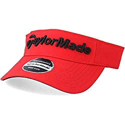 TaylorMade Performance Radar Casquette visière Homme, Red, Taille Unique