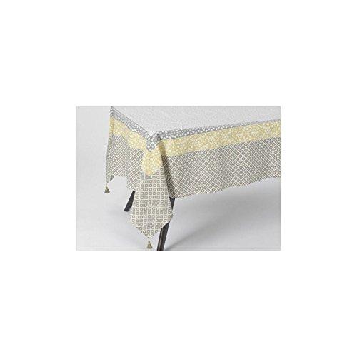 Nappe oslo jaune 150x250 Amadeus