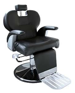 Stockholm Fauteuil de barbier Hauteur d'assise 56-75 cm Repose-tête