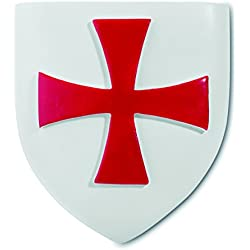 Katerina Prestige–Estatua imán Escudo Templario, re0256
