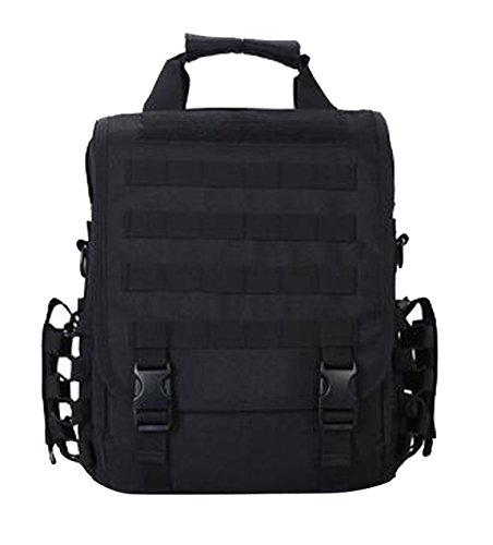 TUOZA Outdoor-Sport-Rucksack Laptop-Tasche Black