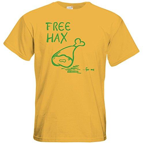 getshirts - Die Grillshow - The Shop - T-Shirt - Free Hax gruen Gold