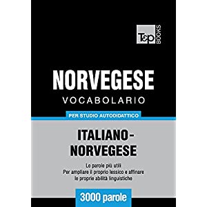 Vocabolario Italiano-Norvegese per studio autodida