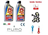 Antigelo Gelox puro rosso - 38° lattina 1000ml