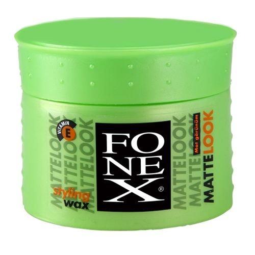 3 x FONEX Matte Look Styling Wax 100g