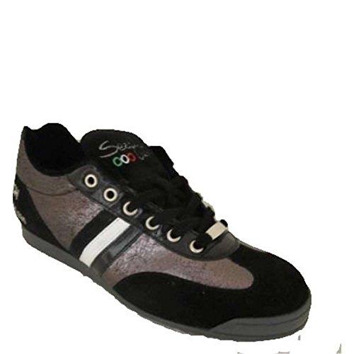 Serafini Sport 755 Sneakers Donna Pelle/camoscio Nero Nero 37