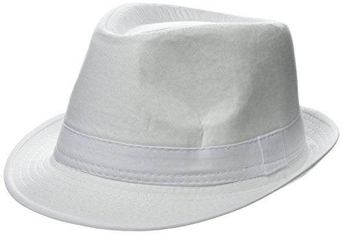verano unisex Panamá Hat - fedora   sombrero flexible playa cap gángster  (blanco) af3e3e87cc1