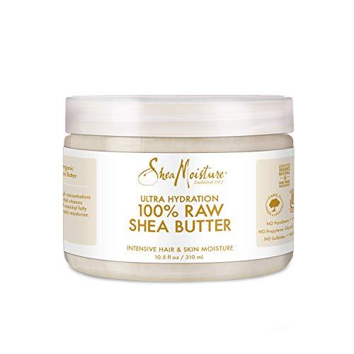 SHEA MOISTURE U-BB-2774 100% Raw Shea Butter Intensive Hair & Skin Moisture