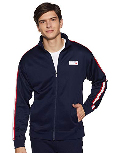 New Balance Herren Mj91556 Jacke, Pigment, Medium (Balance-performance New)