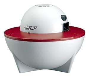 """Set: Raumbedufter Luftbefeuchter Raumbefeuchter""""Phobos"""" + Hygrometer futuristisches Design mit vielfältigen Funktionen für ein gesundes Raumklima."""
