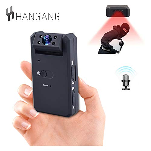 Hangang Camera Spy 1080P HD Überwachungskamera Mini Kamera WiFi Wireless Infrarot Nachtsicht Bewegungserkennung(CS01023)
