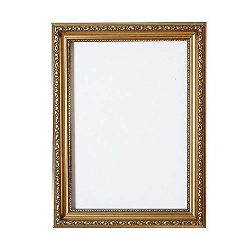 men im Shabby Chic/Foto/Posterrahmen - Mit Rückwand aus MDF - Mit bruchsicherem Plexiglas aus Styrol für hohe Klarheit- 18 x 12 Zoll -Gold ()