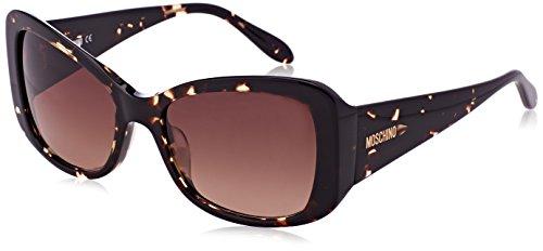 Moschino Damen Eye Sonnenbrille, Braun (Havana), 56