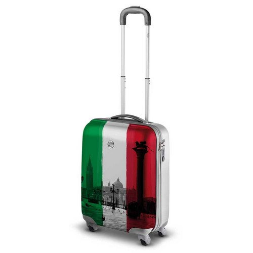 TROLLEY BAGAGLIO A MANO RONCATO CIAK STYLE (ITALIAN FLAG)