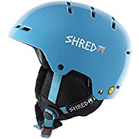 Shred Bumper Skyward Casco de esquí, snowboard, Otoño-invierno, unisex, color azul, tamaño small
