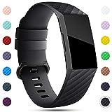 Onedream Kompatibel für Fitbit Charge 3 Armband Damen Herren Klassisch