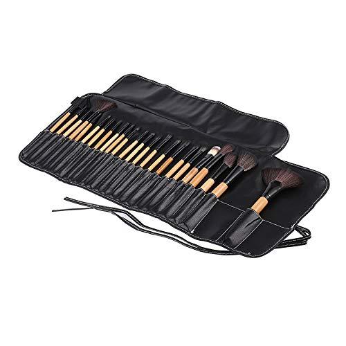 24Pcs professional make up brushes Eyeshadow Powder Brush Set Cosmetic makeup brushes Tool kit brushes with Leather Case Fashion