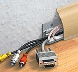 Kabelkanal Sockelleiste/Fußbodenleiste in 6 Dekoren [Buche, 1.19m]