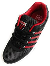 Shri Balaji Footwear Sports Shoes For Trendy Boys Red & Black Colour Size 7
