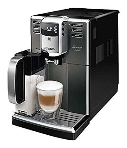 Saeco Incanto hd8922/01 Freestanding semi-automática Espresso Machine 1.8L Black, Stainless Steel – Coffee (Freestanding, Espresso Machine, Black, Stainless Steel, Cup, Plastic, Stainless Steel,