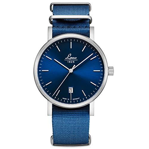 Armbanduhr Classic Azur 40 von Laco – Made in Germany – 40mm Ø hochwertige Automatikuhr –...