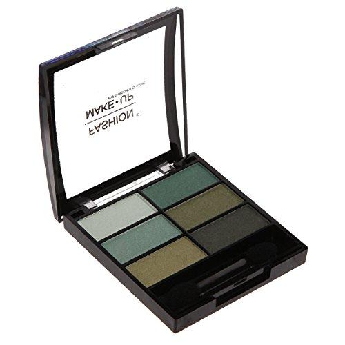 Fard Ombre à Paupières - 6 Couleurs - Dégradé de Vert - Maquillage Yeux
